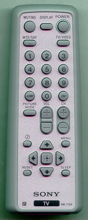 SONY 1-468-835-21 RMY194 Genuine  OEM original Remote