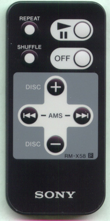 SONY 1-473-612-21 RMX58 Genuine  OEM original Remote