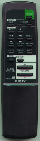 SONY 1-473-694-11 RMSG10 Genuine OEM original Remote