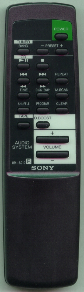 SONY 1-473-694-11 RMSG10 Refurbished Genuine OEM Original Remote