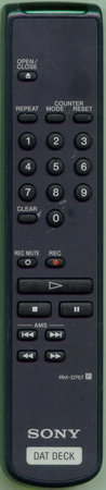 SONY 1-473-921-11 RMD757 Genuine  OEM original Remote