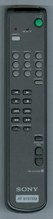 SONY 1-474-026-11 RM-AAU008 Genuine OEM original Remote