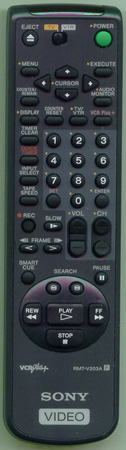 SONY 1-475-032-21 RMTV203A Genuine  OEM original Remote