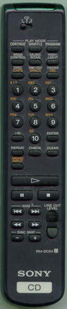 SONY 1-475-088-11 RMDC53 Genuine  OEM original Remote