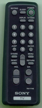 SONY 1-475-094-21 RMY146 Genuine  OEM original Remote