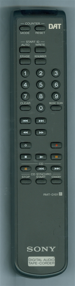 SONY 1-475-219-11 RMTD101 Refurbished Genuine OEM Original Remote
