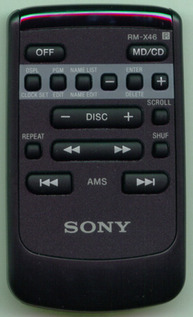 SONY 1-475-589-11 RMX46 Genuine OEM original Remote
