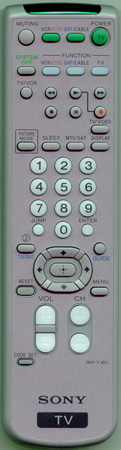 SONY 1-476-680-12 RMY180 Genuine  OEM original Remote