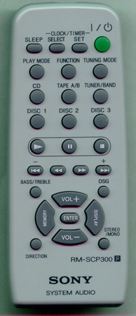 SONY 1-476-705-11 RMSCP300 Genuine OEM original Remote