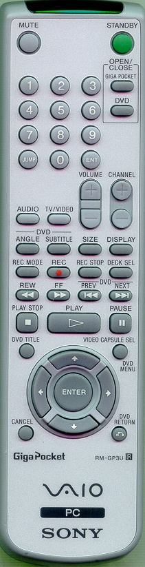 SONY 1-476-795-11 Refurbished Genuine OEM Original Remote