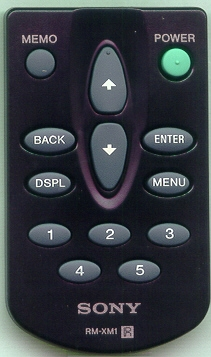 SONY 1-476-877-11 RMXM1 Refurbished Genuine OEM Original Remote