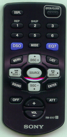 SONY 1-477-110-11 RMX117 Genuine  OEM original Remote
