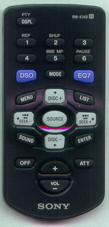 SONY 1-477-110-51 RMX140 Genuine OEM original Remote