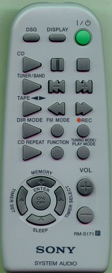 SONY 1-477-239-11 RM-S171 Refurbished Genuine OEM Original Remote