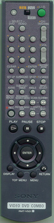 SONY 1-477-582-11 RMTV501 Genuine  OEM original Remote