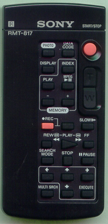 SONY 1-476-815-21 RMT81 Genuine OEM original Remote