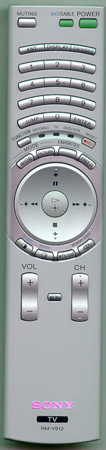 SONY 1-477-670-11 RMY912 Genuine  OEM original Remote