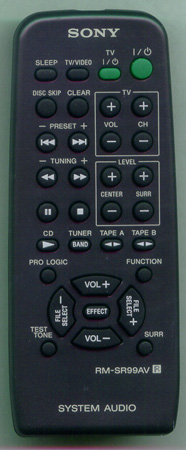 SONY 1-477-780-11 RMSR99AV Genuine OEM original Remote