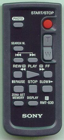 SONY 1-477-898-71 RMT830 Genuine  OEM original Remote