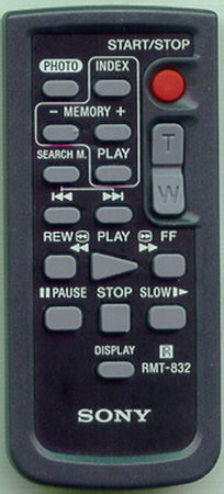 SONY 1-477-899-11 RMT832 Genuine OEM original Remote