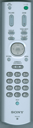 SONY 1-478-144-13 PCSR1 Genuine  OEM original Remote