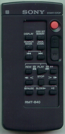 SONY 1-478-953-21 RMT840 Genuine OEM original Remote