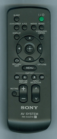 SONY 1-480-276-11 RMAAU018 Genuine  OEM original Remote