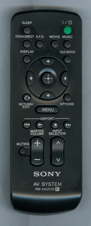 SONY 1-480-699-11 RMAAU039 Genuine  OEM original Remote