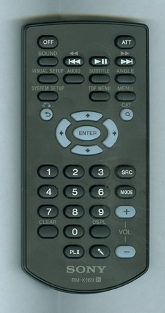 SONY 1-480-961-11 RMX169 Genuine  OEM original Remote