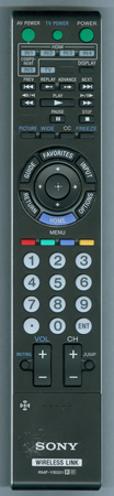 SONY 1-487-040-11 RMFYB001 Genuine OEM original Remote
