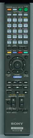 SONY 1-487-900-11 RM-AAL031 Genuine OEM original Remote