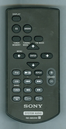 SONY 1-489-168-11 RMAMU098 Genuine OEM original Remote