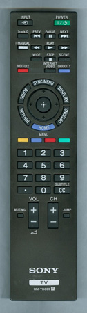 SONY 1-489-484-11 RMYD063 Genuine  OEM original Remote