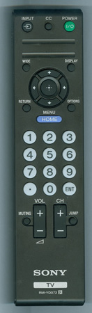 SONY 1-489-933-11 RMYD072 Genuine  OEM original Remote