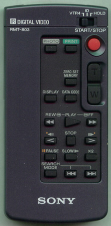 SONY 8-917-268-90 RMT803 Genuine OEM original Remote