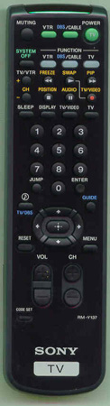 SONY 8-917-534-90 RMY137 Genuine OEM original Remote