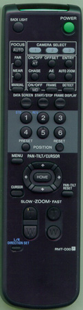 SONY 8-917-560-90 RMTD30 Genuine  OEM original Remote