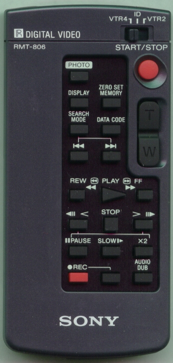 SONY 8-917-569-90 RMT806 Refurbished Genuine OEM Original Remote