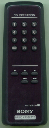 SONY 8-917-589-90 RMTCZ130 Genuine OEM original Remote