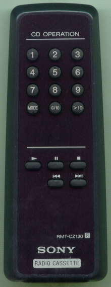 SONY 8-917-589-90 RMTCZ130 Refurbished Genuine OEM Original Remote