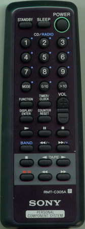 SONY 8-917-598-90 RMTC305A Genuine OEM original Remote