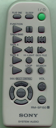 SONY 8-917-636-90 RMSF150 Genuine  OEM original Remote