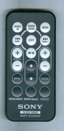SONY 9-885-134-41 RMTCCS10IP Genuine OEM original Remote