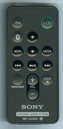 SONY 9-885-163-44 RMTCX200IP Genuine OEM original Remote