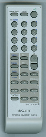 SONY A-1097-232-A RMTCA50 Genuine OEM original Remote
