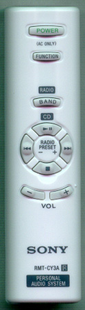 SONY A-1101-339-A RMTCY3A Genuine OEM original Remote