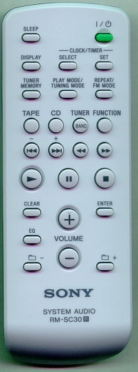 SONY A-1108-432-A RMSC30 Refurbished Genuine OEM Original Remote