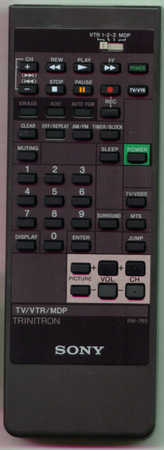 SONY A-1470-924-A RM765 Genuine  OEM original Remote