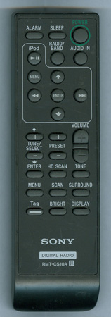 SONY A-1497-347-A RMTCS10A Genuine  OEM original Remote
