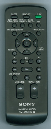 SONY A-1861-244-A RMAMU137 Genuine OEM original Remote